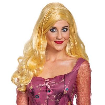 Adult Deluxe Disney Hocus Pocus Sarah Sanderson Halloween Wig