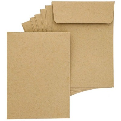 100-Pack Bulk Self Seal Kraft Seed Envelope Pouches, 4.5 X 3 inches
