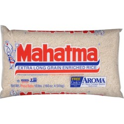 Mahatma® Extra Long Grain Enriched Rice - 10lbs