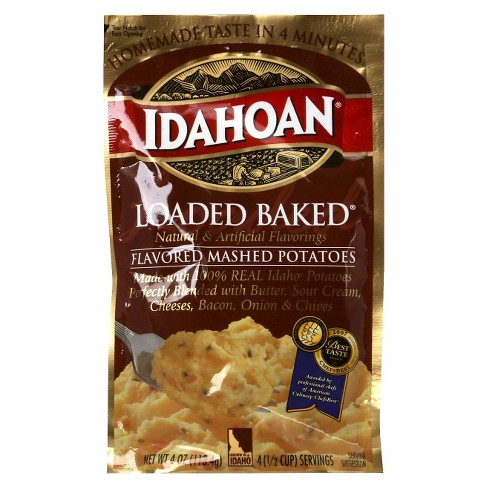 Idahoan Loaded Baked Flavored Mashed Potatoes 4 oz - image 1 of 1