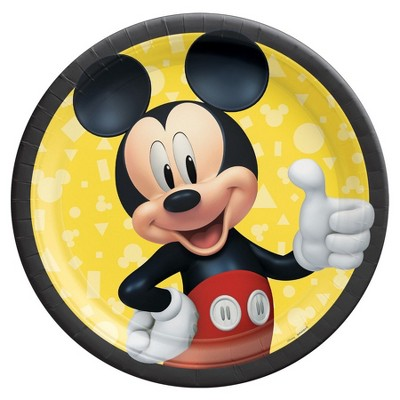 Birthday Express Mickey Mouse Forever Dessert Plates - 8 Pack