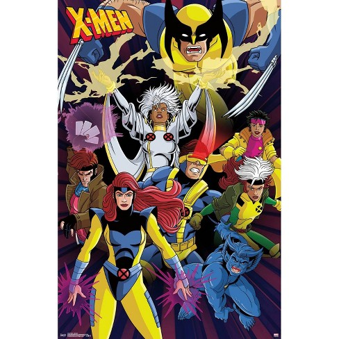 """34"""" x 23"""" X - Men Awesome Unframed Wall Poster Print - Trends International - image 1 of 2"""