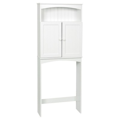 Country Cottage Space Saver 2 Doors Wood White - Zenna Home