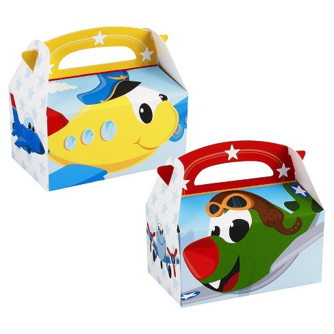 8 ct Airplane Adventure Favor Boxes - image 1 of 1