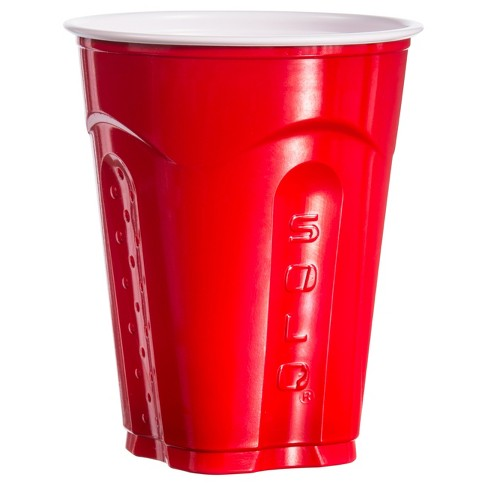 solo square red party cup 18oz 72ct target
