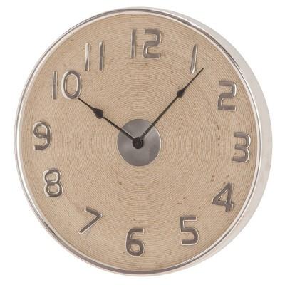 "18"" x 18"" Modern Round Wall Clock - Olivia & May"