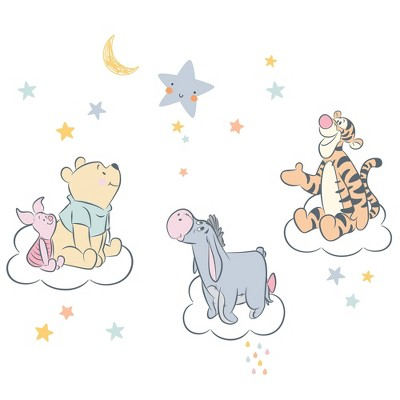 Lambs & Ivy Winnie the Pooh Hugs Wall Decals