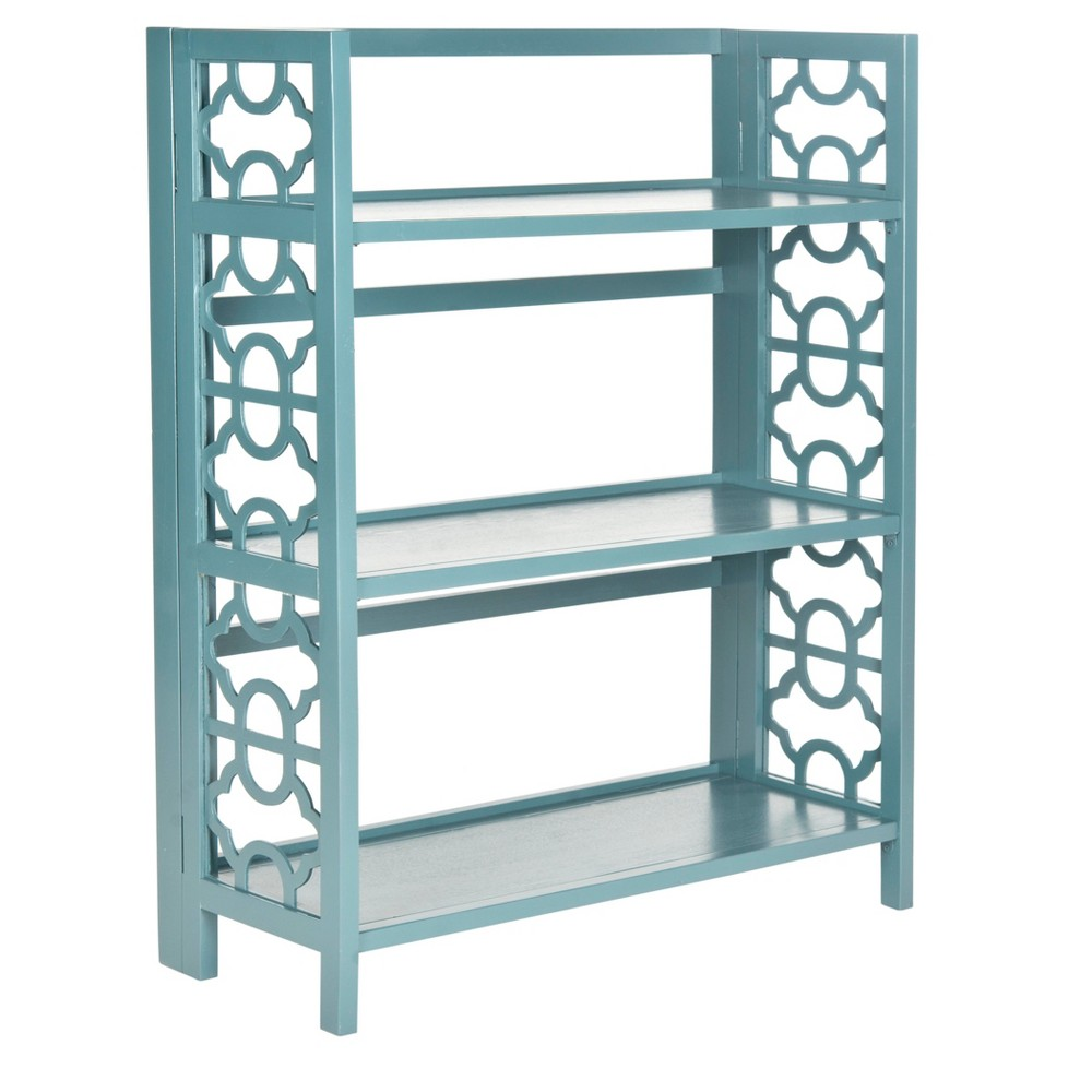 Chester 42.5 Bookcase - Teal (Blue) - Safavieh