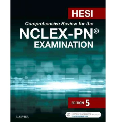 HESI Comprehensive Review for the NCLEX-PN Examination (Paperback) - image 1 of 1