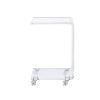 Peek Acrylic Snack Table Clear - Picket House Furnishings : Target