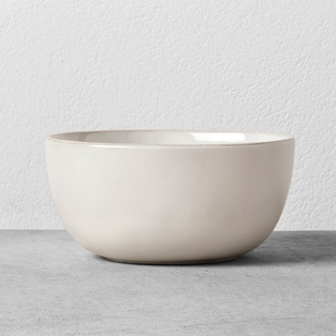 Stoneware Cereal Bowl - Cream - Hearth & Hand™ with Magnolia - image 1 of 3