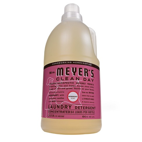 Mrs. Meyer's Rosemary Scented Liquid Laundry Detergent - 64oz - image 1 of 4