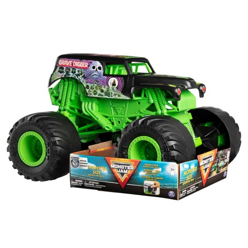 Monster Jam Monster Size Grave Digger Monster Jam Truck - 1:10 Scale - image 1 of 4