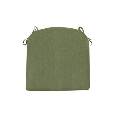 Outdoor Round Back Seat Cushion DuraSeason Fabric™ Lawn - Threshold™