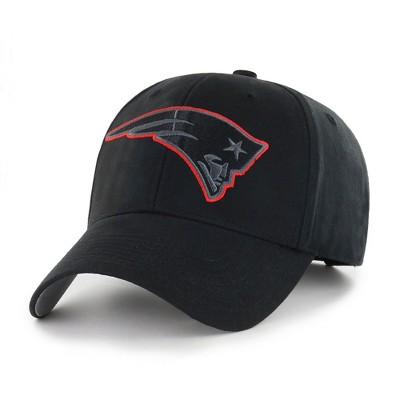 NFL New England Patriots Classic Black Adjustable Cap/Hat by Fan Favorite