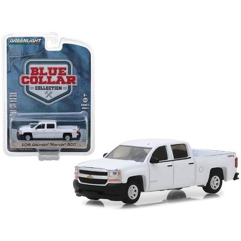 Chevrolet Truck Models >> 2018 Chevrolet Silverado 1500 Pickup Truck White Blue Collar