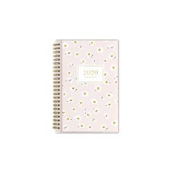"2020 Planner 5""x 8"" Ditsy Daisy Pink - cupcakes and cashmere for Blue Sky"