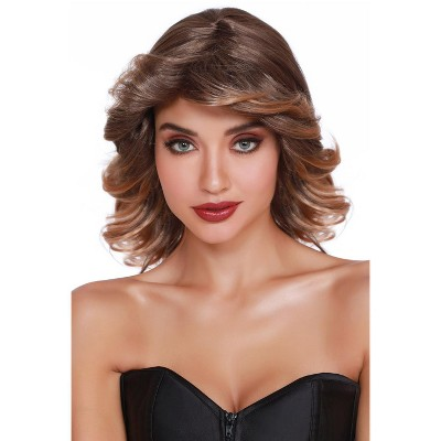 Dreamgirl Disco Feather Wig