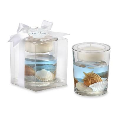12ct Seashell Gel Tealight Holder