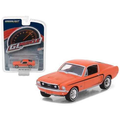 1968 Ford Mustang GT Madagascar Orange Greenlight Muscle Series 19 1