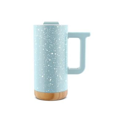 Ello 16oz Ceramic Aspen Travel Mug Blue