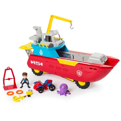 PAW Patrol Sea Patrol - Sea Patroller Transforming Vehicle with Lights and Sounds - image 1 of 4