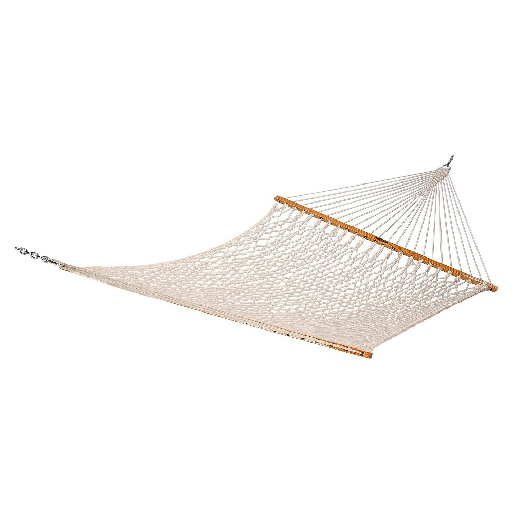 Image of Original Pawleys Island Deluxe Cotton Rope Hammock - Natural