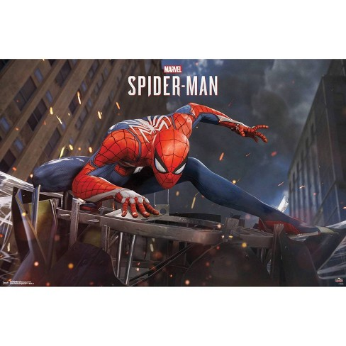 """34"""" x 23"""" Spider-Man Action Unframed Wall Poster Print - Trends International - image 1 of 2"""