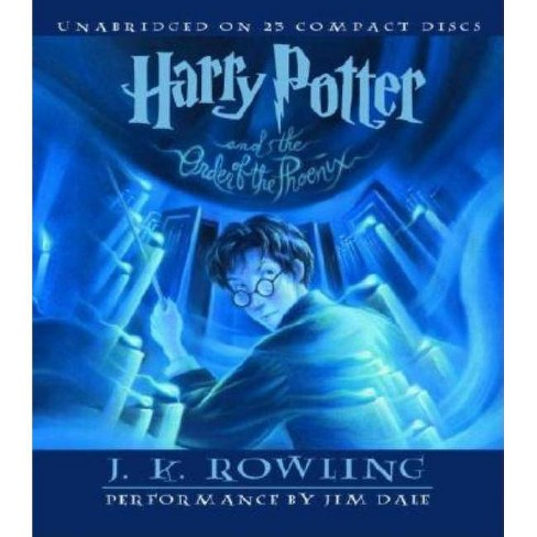 Harry Potter and the Order of the Phoenix - by  J K Rowling (AudioCD) - image 1 of 1