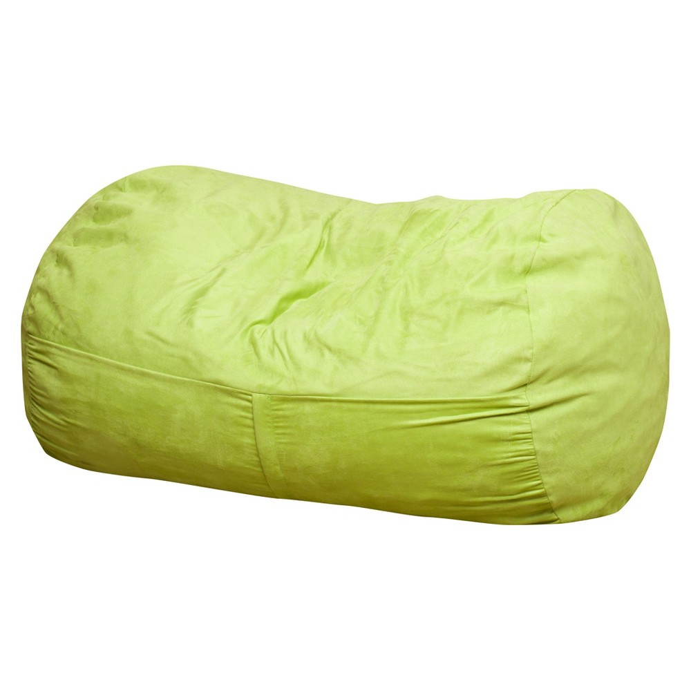 Skylar 4 - Foot Bean Bag Chair - Kiwi (Green) - Christopher Knight Home