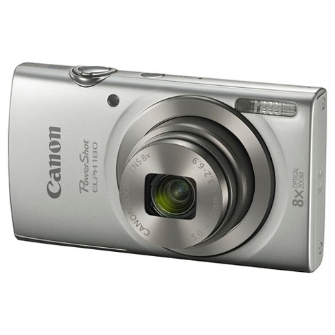 CANON PowerShot ELPH 180 Silver - image 1 of 4