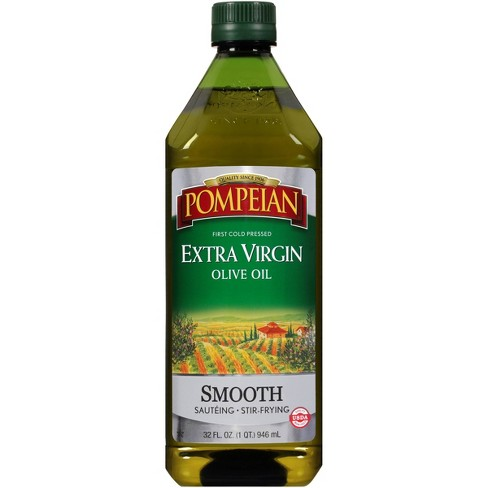 Pompeian Extra Virgin Olive Oil Smooth - 32oz - image 1 of 4