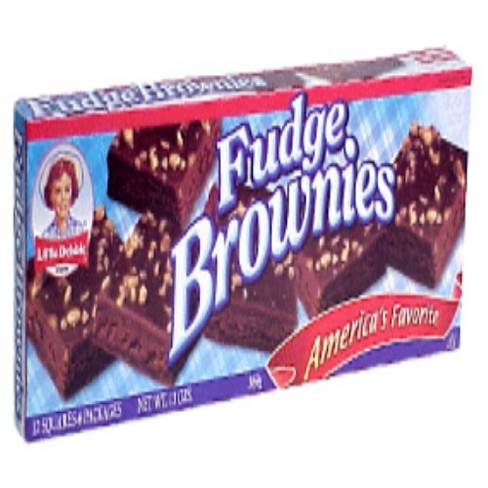 Little Debbie Fudge Brownies with English Walnuts - 12pk/13oz - image 1 of 1