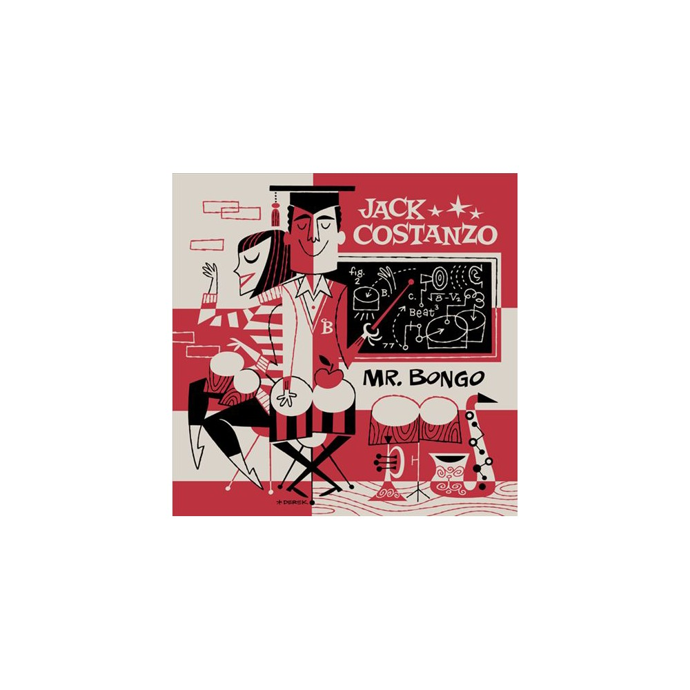 Jack Costanzo - Mr. Bongo (CD)