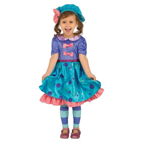 Kids' Little Charmers Lavender Costume - M - image 1 of 1