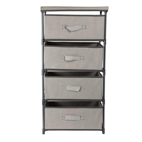 Juvale 4 Tier Storage Drawer Organizer, Storage For Clothes