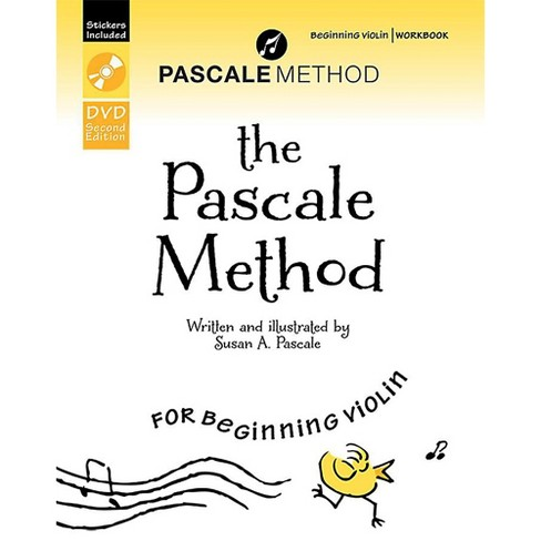 Alfred The Pascale Method for Beginning Violin Workbook, DVD, and Stickers (2nd Edition) - image 1 of 1
