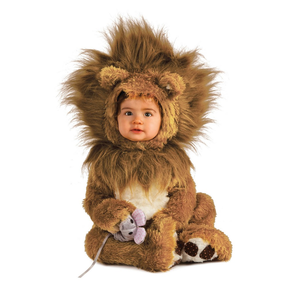 Baby Lion Cub Halloween Costume 12-18M, Infant Unisex, Multicolored