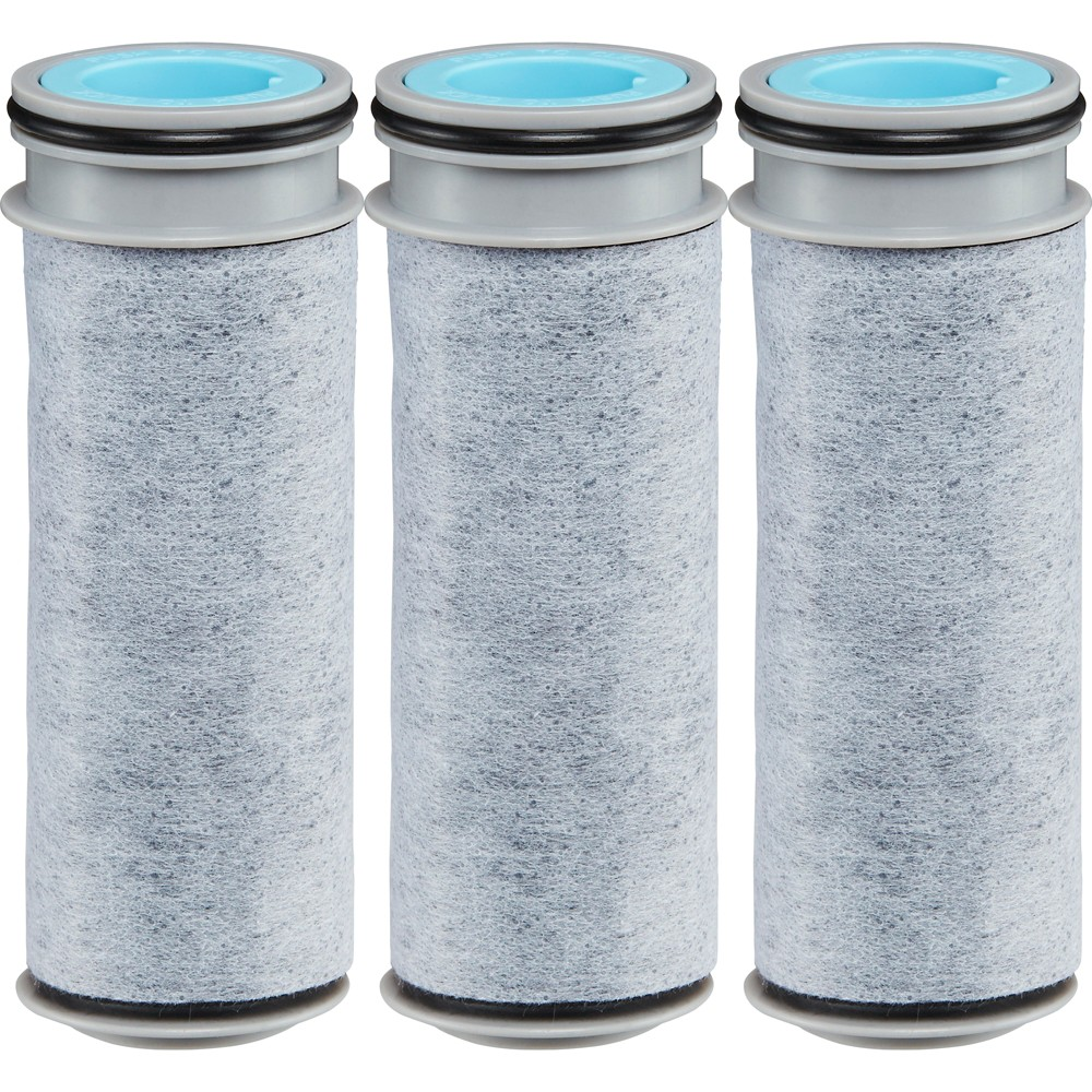 Image of Brita Stream BPA Free Pitcher Replacement Water Filter - 3ct, Gray