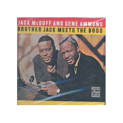 Jack McDuff - Brother Jack Meets the Boss (CD) - image 1 of 1
