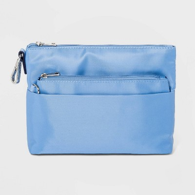 Women's Zip Closure Small Wallet - A New Day™ Coral