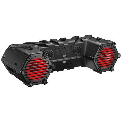 BOSS Audio ATV95LRGB All Terrain ATV/UTV Outdoor Bluetooth Sound System with 700 Watt Amp, 8 Inch Marine Speakers, and RGB illumination