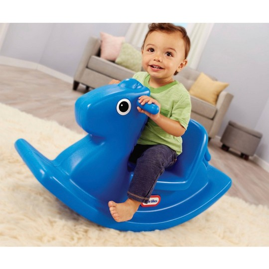 Little Tikes Rocking Horse Blue image number null
