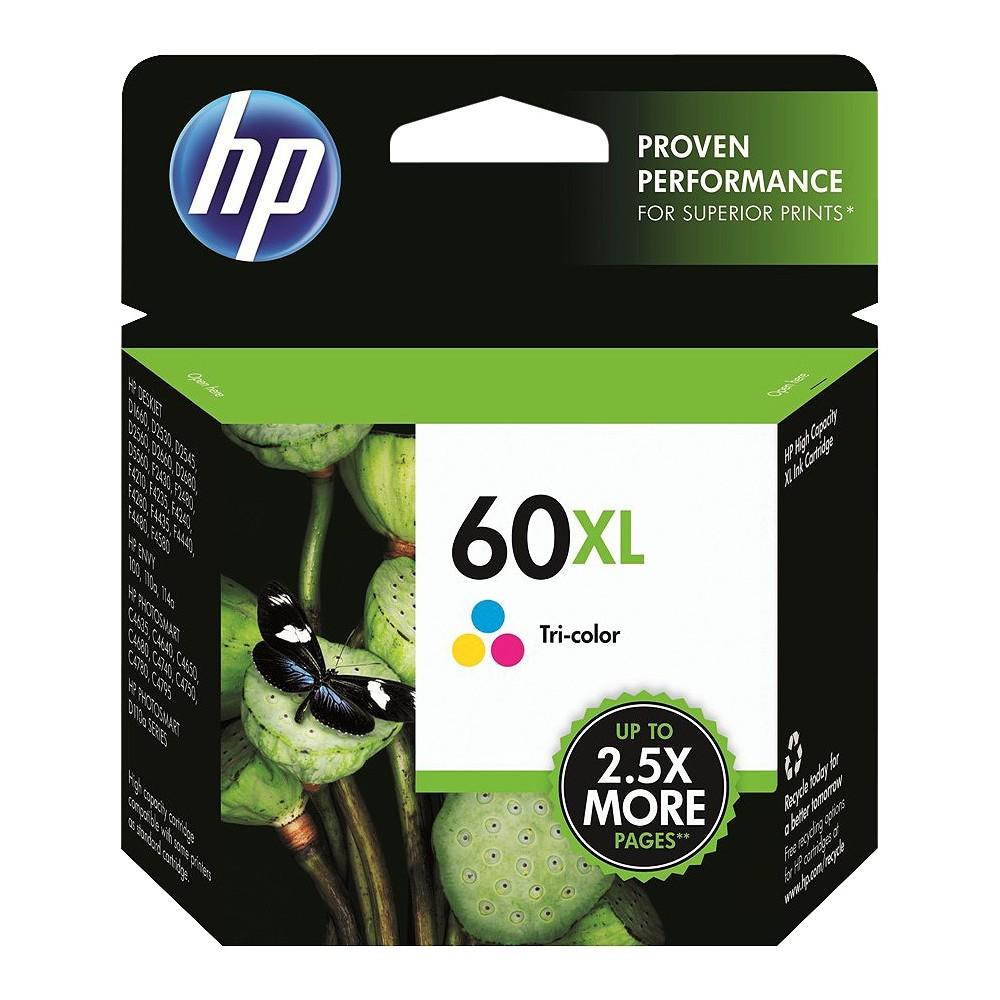 HP 60XL Single Ink Cartridge - Tri-color (CC644WN#14) Promos