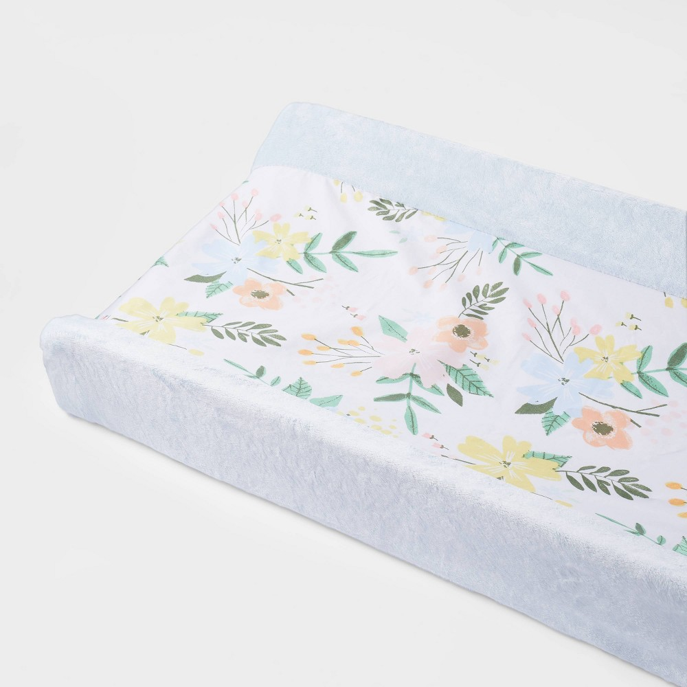 Wipeable Changing Pad Cover Meadow Cloud Island 8482