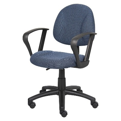 Deluxe Posture Chair with Loop Arms - Boss Office Products
