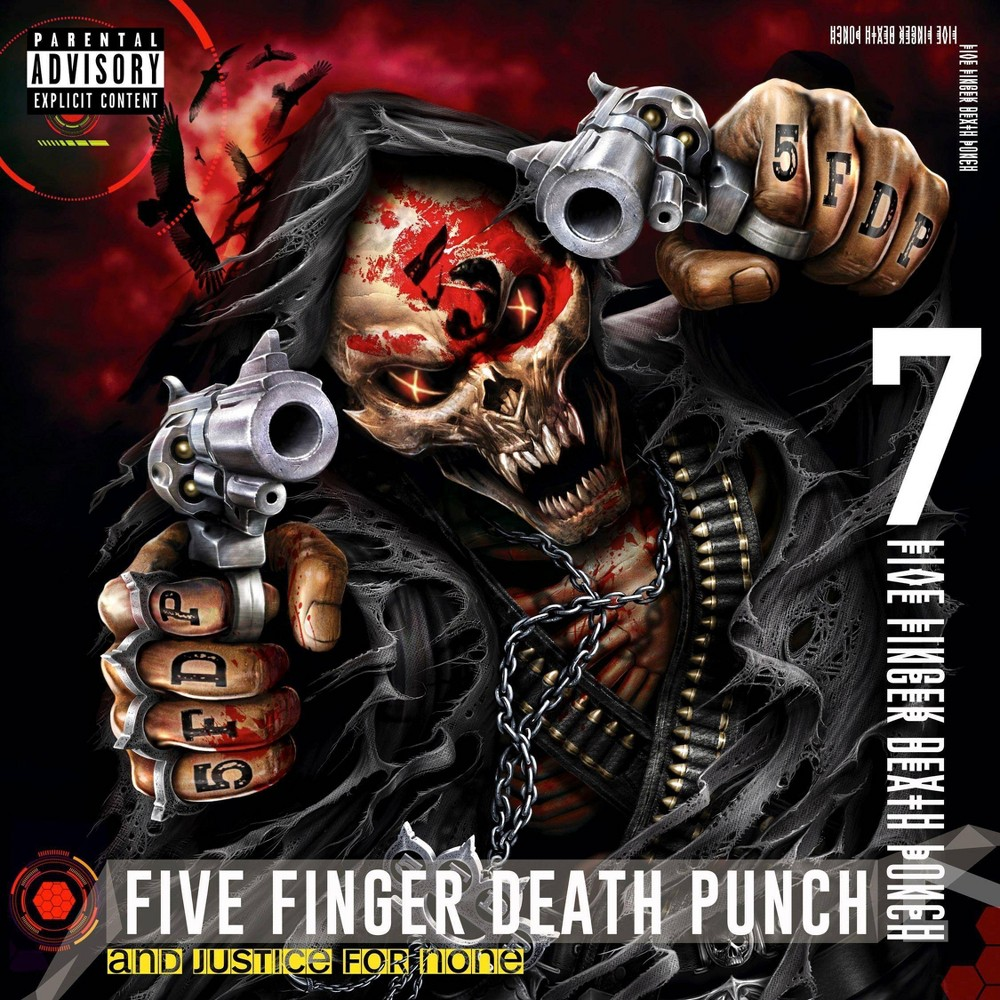 Five Finger Death Punch And Justice For None Vinyl