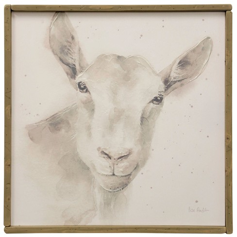 "25.74"" Lamb Farm Animal Handpainting Decorative Wall Art - StyleCraft - image 1 of 2"