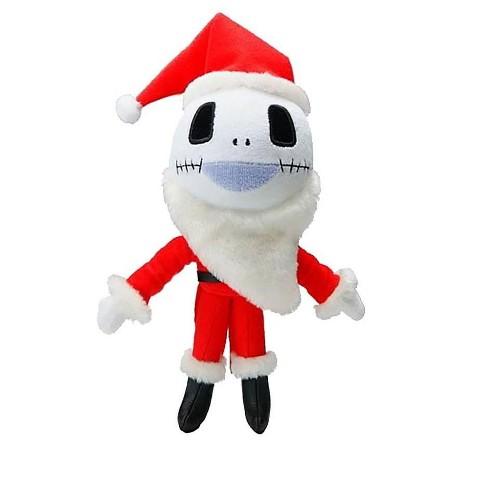 UCC Distributing Nightmare Before Christmas 5-Inch Santa Jack Skellington Plush - image 1 of 2