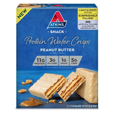 Granola & Protein Bars: Atkins Protein Wafer Crisps